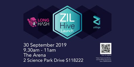 ZILHive Launch tickets