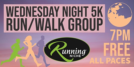 Weekly Wednesday Night 5K Running and Walking Group in the Grove STL tickets