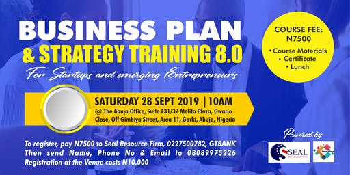 BUSINESS PLAN AND STRATEGY TRAINING 8TH EDITION (BPST 8.0)