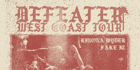 Defeater @ Holy Diver tickets