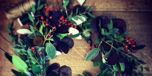 Christmas Wreath Making Workshop Brixton