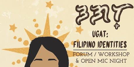 Ugat: Filipino Identities tickets