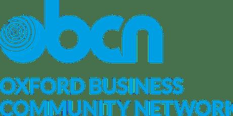 Oxford Business Community Network - Breakfast 1st November tickets