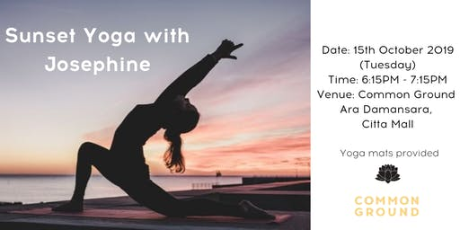 Sunset Yoga with Josephine Hoon