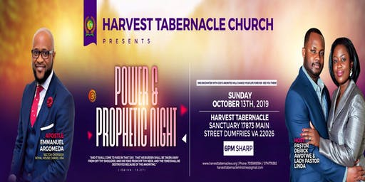 Power & Prophetic Conference - Harvest Tabernacle Ministries