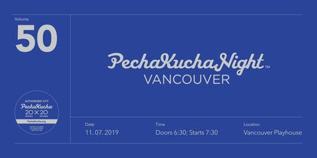 PechaKucha Night Vol.50 tickets