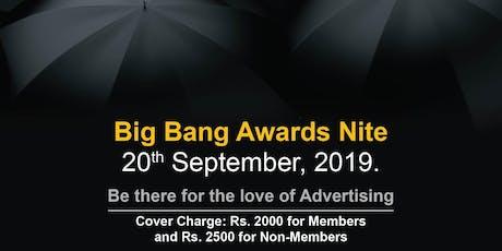 Big Bang Awards Night 2019 tickets