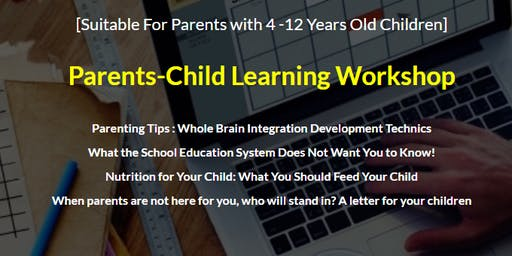 Parent-Child Learning Workshop September