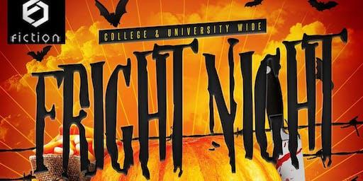 Fright Night 2019 @ Fiction   18+ // Fri Oct 25   Toronto's Biggest Halloween Party   2 Floors 1500+ People