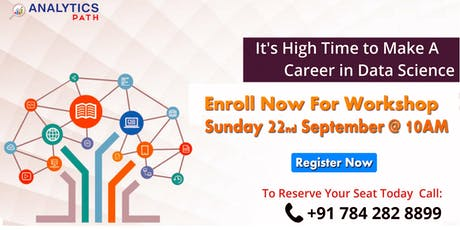 Enroll For Free Workshop On Data Science Training  By Analytics Path  tickets