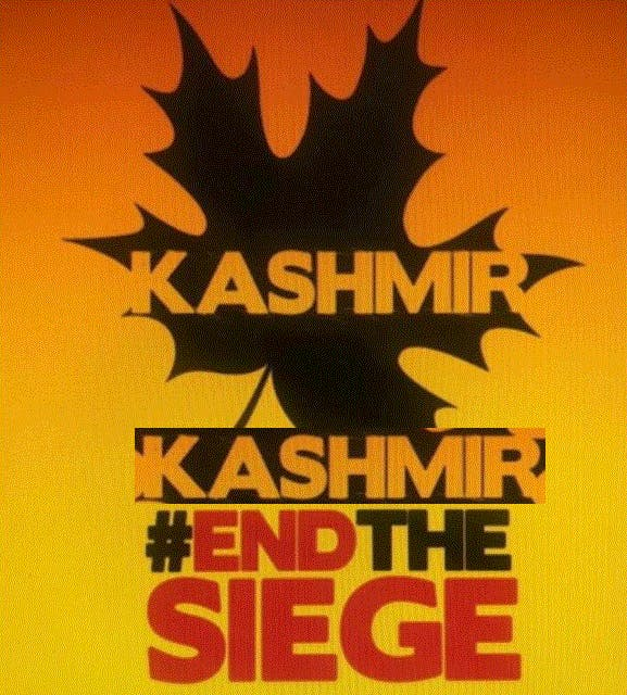 Human Rights Rally for Indian Occupied Kashmir
