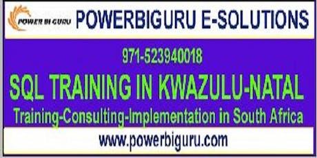 Microsoft  Sql server training in Kwazulu-Natal,South Africa tickets