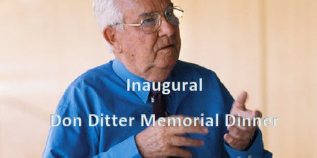 Inaugural Don Ditter Memorial Dinner tickets