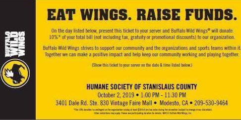 HSSC Monthly Restaurant Night - Buffalo Wild Wings