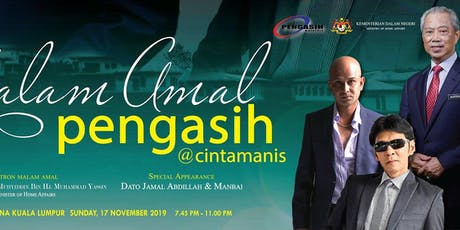MALAM AMAL PENGASIH @ CINTA MANIS tickets