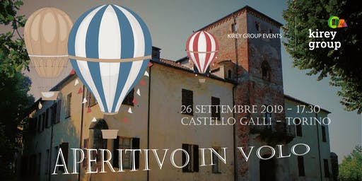 Aperitivo in volo con Kirey Group