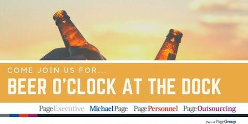 Beer O'Clock at the Dock