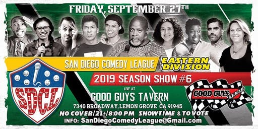 SD Comedy League 2019: s5: Good Guys Tavern: 9/27/19
