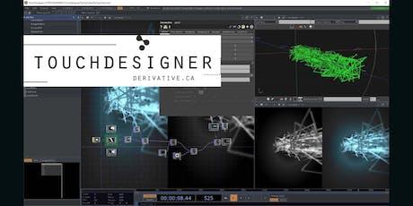 TouchDesigner - Workshop by Antoine Goldschmidt tickets