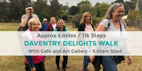 DAVENTRY DELIGHTS WITH CAFE & ART GALLERY WALK | 4.5 MILES | EASY | NORTHANTS tickets