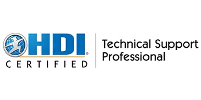 HDI Technical Support Professional 2 Days Virtual