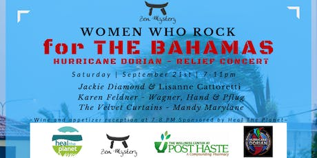 Women Who Rock For the Bahamas: Hurricane Dorian Relief tickets