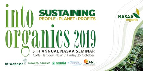 Into Organics Seminar - Friday 25th / Field Day - Thursday 24th October tickets