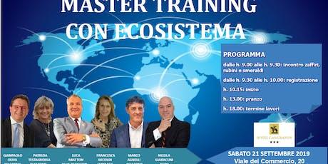 Master Training biglietti