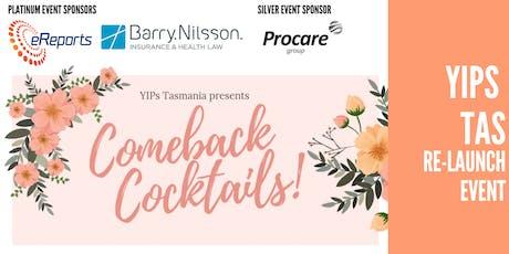 YIPs Tasmania 'Comeback Cocktails' tickets