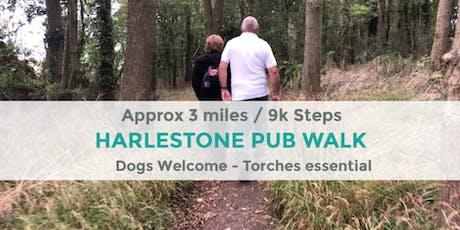 HARLESTONE VILLAGES PUB WALK | 3 MILES | EASY | NORTHANTS tickets