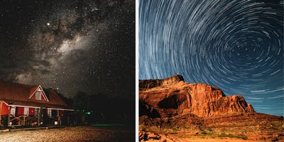 Astrophotography - Milky Way and Star Trails