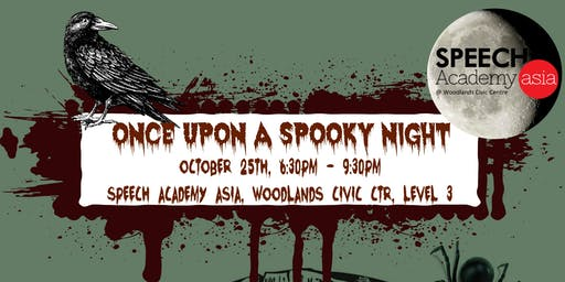 Once Upon A Spooky Night - Speech Academy Asia Halloween Party