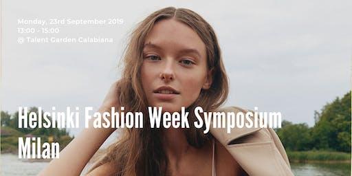 Helsinki Fashion Week Symposium in Milan