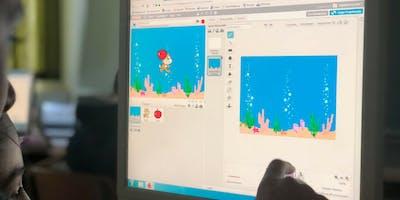 Workshop Coding mit Scratch: Eine hungrige Katze