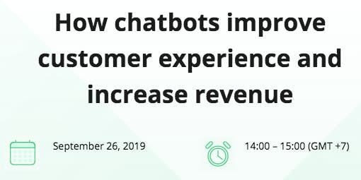 [Exclusive Free Webinar] How Chatbots improve customer experience