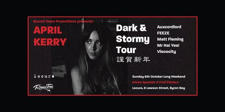 APRIL KERRY - Dark & Stormy Tour tickets