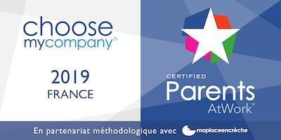 Conférence / Petit Déjeuner ChooseMyCompany ParentsAtWork® 15 octobre 2019
