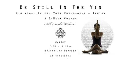 Drop In: Be Still In The Yin: Yin Yoga, Reiki, Yoga Philosophy & Tantra