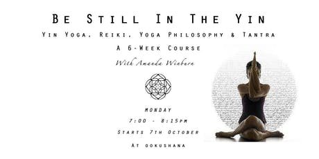 Drop In: Be Still In The Yin: Yin Yoga, Reiki, Yoga Philosophy & Tantra tickets