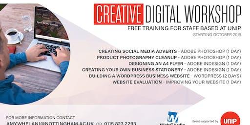 Creating Social Media Adverts using Adobe Photoshop