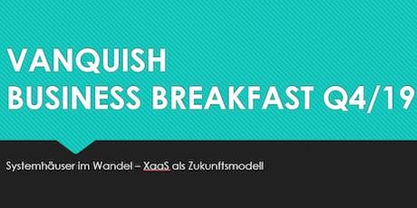 Vanquish Business Breakfast Dortmund Tickets