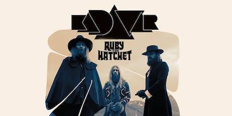 Kadavar w/ Ruby the Hatchet tickets