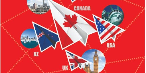 FREE SEMINAR OF Canada, Australia, NZ & UK Student visa