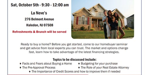 Free HomeBuyer Seminar For All