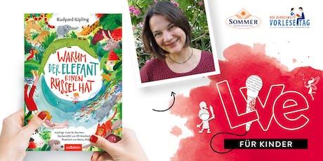 FÜR KINDER: Unser Vorlesetag mit Cornelia Boese Tickets