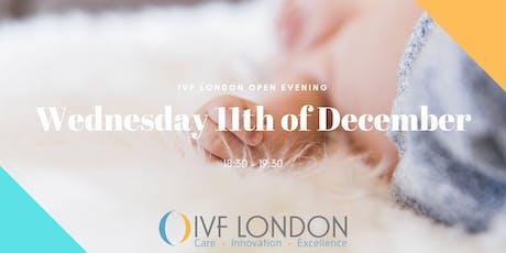 IVF LONDON OPEN EVENING tickets