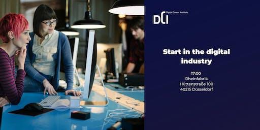 Düsseldorf: Start in the digital industry