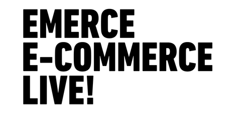 Emerce E-commerce Live! 2020 tickets
