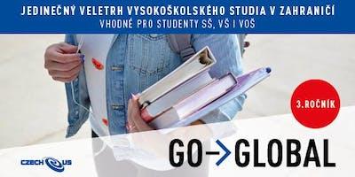 Veletrh vysokoškolského studia v zahraničí Go-Global Praha 18.-19. 10. 2019