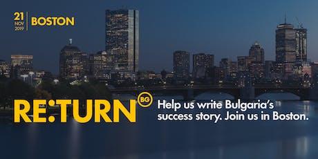 RE:TURN Boston tickets
